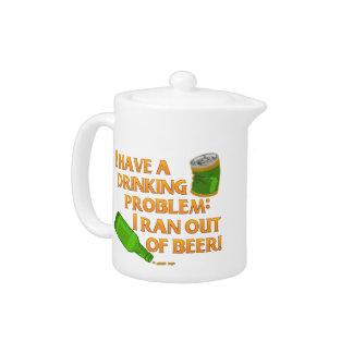 Funny Drinking Beer Tea Pot