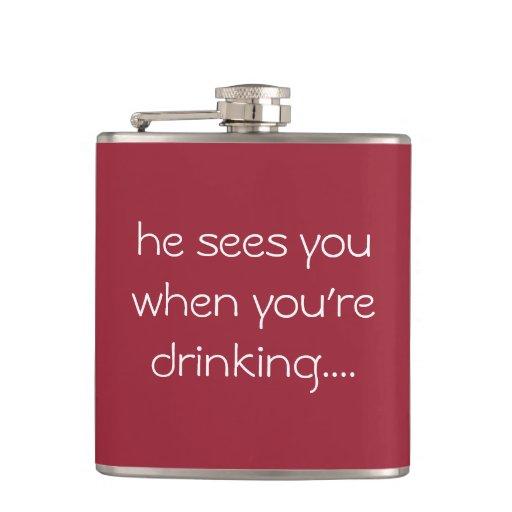 Funny Wedding Gifts Ireland : Funny drinking gift...Christmas flask Zazzle
