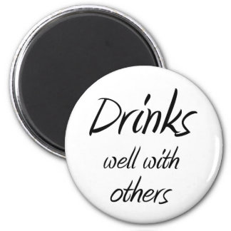 Funny drinking quotes joke novelty fridge magnets