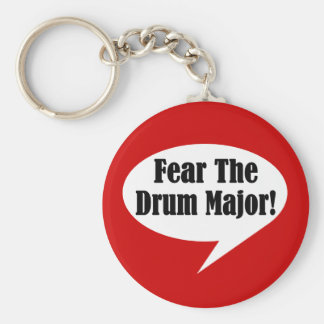 Funny Drum Major Key Chain