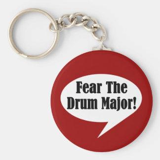 Funny Drum Major Keychain