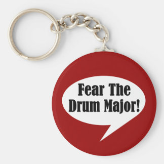 Funny Drum Major Keychains
