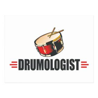 Funny Drum Postcard