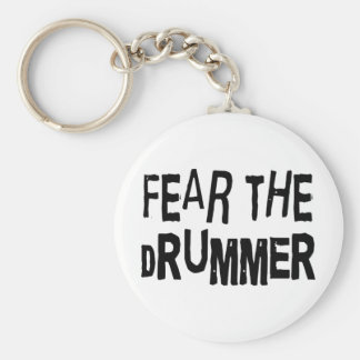 Funny Drummer Key Chain