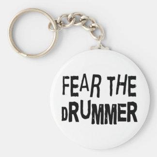 Funny Drummer Key Chain