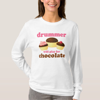 Funny Drummer Quote T-shirt