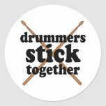 Funny Drummer Sticker