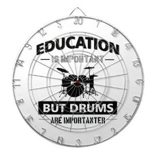 Funny Drumming Dartboard With Darts