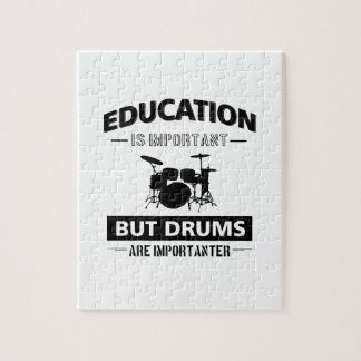 Funny Drumming Jigsaw Puzzle