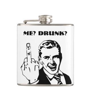 Funny drunk hip flasks