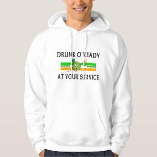 Funny Drunk Irish Hoodie