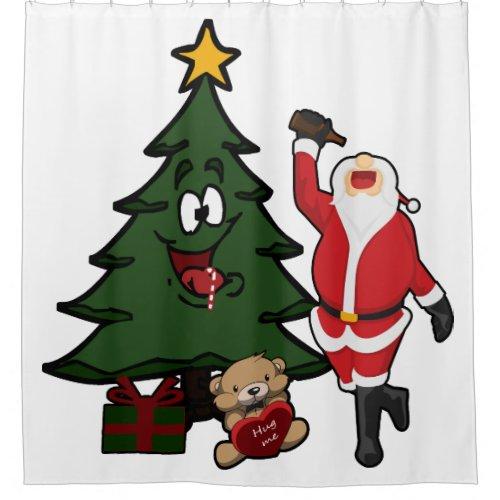 Funny Drunk Santa Claus Christmas