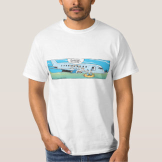 Funny Duck Airplane Cartoon Shirt
