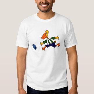 Funny Duck Bowling Cartoon T-shirt