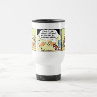 Funny Duck Cartoon Coffee Mug