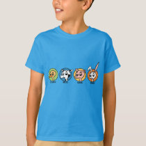 FUNNY DUCK COW PIG AND RABBIT GRAPHIC T-SHIRT