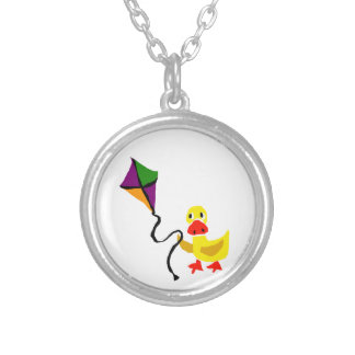 Funny Duck Flying Colorful Kite Pendants