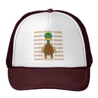 funny duck trucker hat