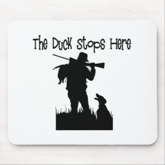 Funny Duck Hunters Gifts Mouse Pad