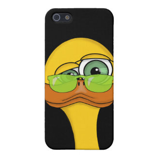Funny Duck with Sunglasses Picture iPhone 5 Cases