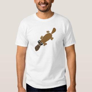 Funny Duckbill Platypus Art T-Shirt