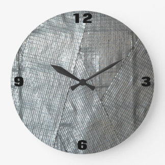 Funny Duct Taped Handyman Shop Clock
