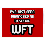 Funny dyslexic cards
