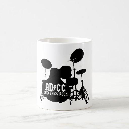 Funny Dyslexic Classic White Coffee Mug