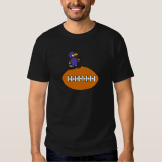 Funny Eagle Mascot on Football T-Shirt