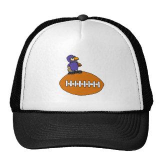 Funny Eagle Mascot on Football Trucker Hat