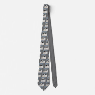 Funny Eagles and Seagull Necktie