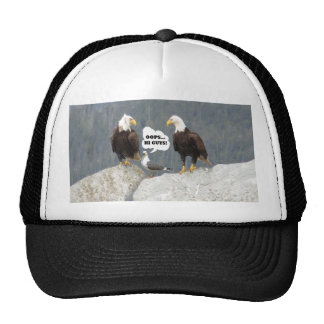Funny Eagles and Seagull Trucker Hat