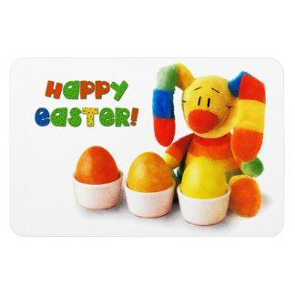 Funny Easter Bunny. Easter Gift Magnet Vinyl Magnets