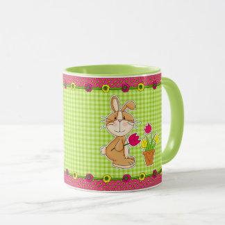 Funny Easter Bunny Gift Mugs for kids