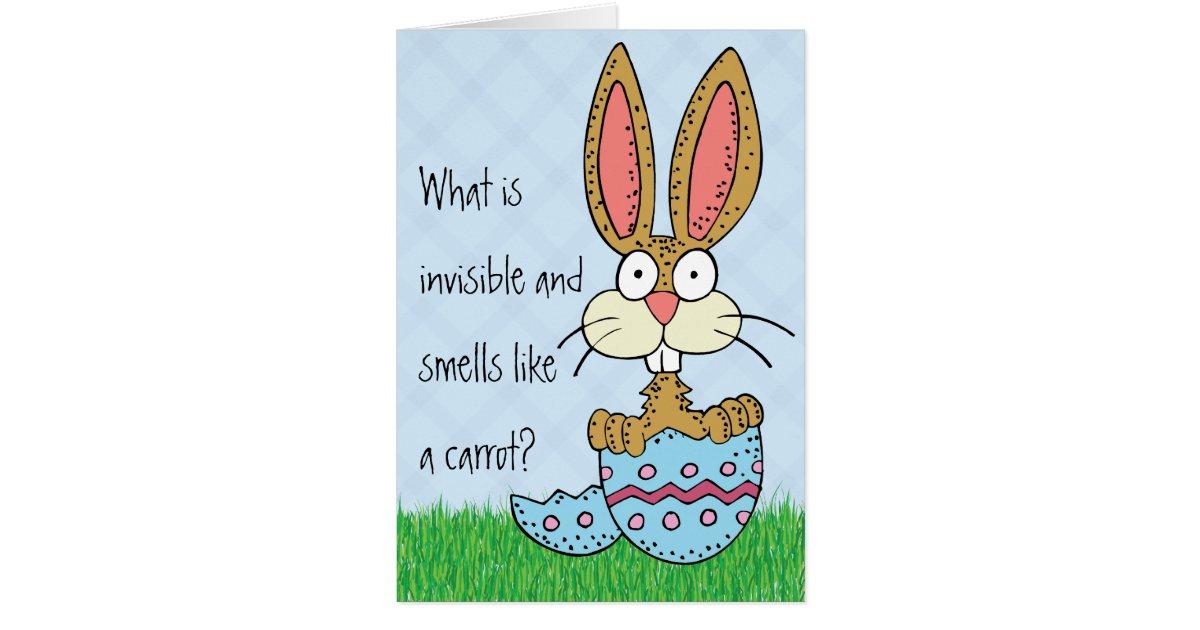 Funny easter bunny joke card zazzle negle Gallery