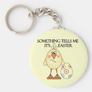 Funny Easter Chick Tshirts and Gifts Key Chain