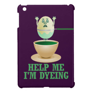 Funny Easter Egg Dyeing iPad Mini Cases