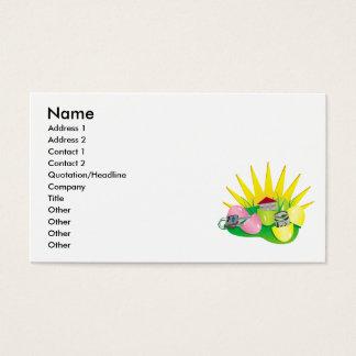 funny easter egg hunt find business card
