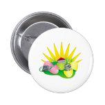 funny easter egg hunt find pinback buttons