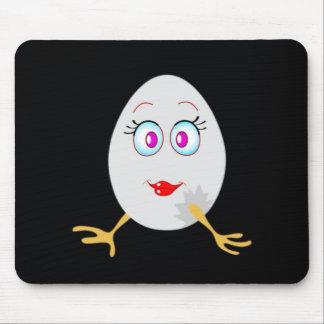 funny easter egg mousepad