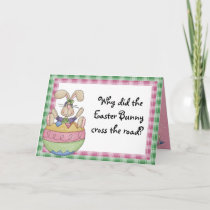 Funny Easter Holiday Card