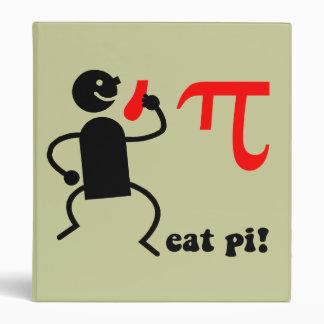 Funny eat pi binder