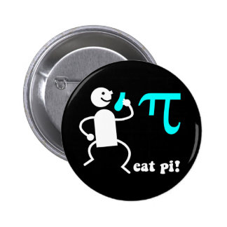 Funny eat pi button