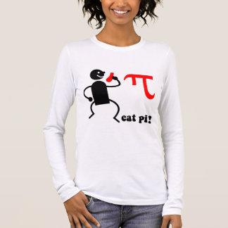 Funny eat pi long sleeve T-Shirt