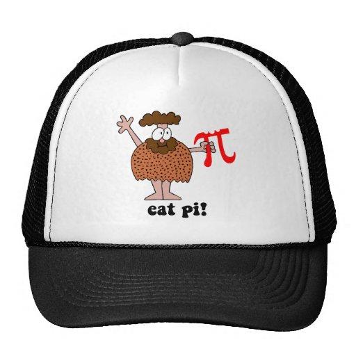 Funny eat pi math trucker hat