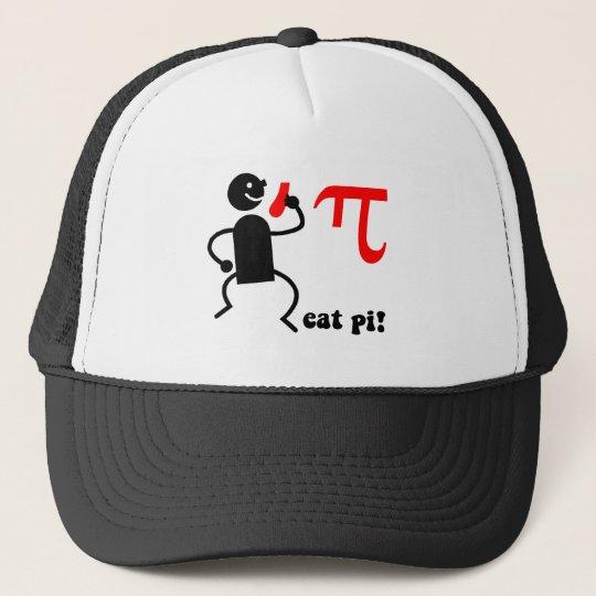 Funny eat pi trucker hat
