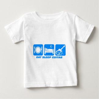 Funny eat sleep guitar baby T-Shirt