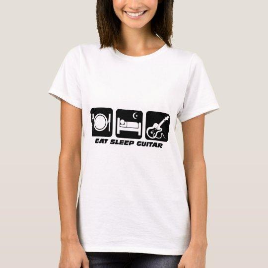 Funny eat sleep guitar T-Shirt