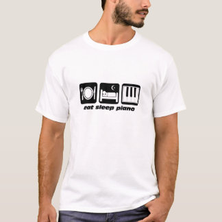 Funny eat sleep piano T-Shirt