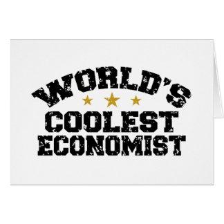Funny Economist Greeting Card